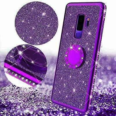$ CDN8.76 • Buy  For Samsung Galaxy A70 A51 S21 Bling Glitter Ring Stand Phone Back Case Cover