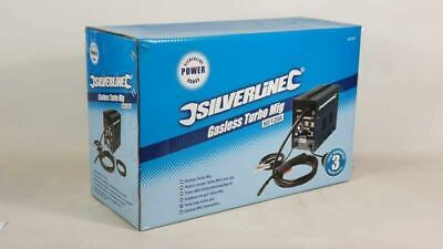 New Boxed Silverline Gasless Turbo Mig Welder 60/120a Spring  Sale • 125£