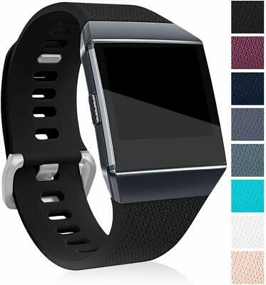 $ CDN6.91 • Buy For FitBit Ionic Strap Replacement Band Classic Metal Buckle Wristband Accessory