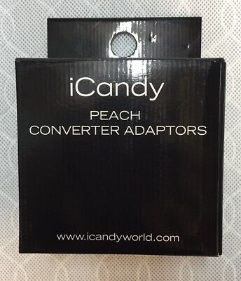 ICandy Peach 2,3,4 Blossom/Twin/Double Converter Adaptors Adapters • 59.95£