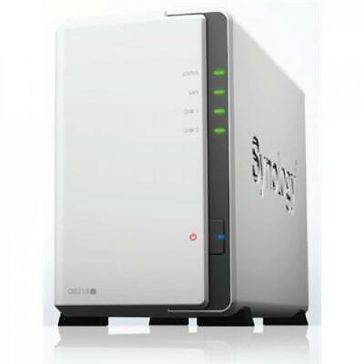 AU319.90 • Buy Synology DiskStation DS218j 2-Bay NAS Server, Marvell Armada 88F6820 Dual Core 1