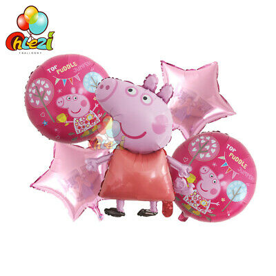 10 X 12  PEPPA PIG George Latex Balloons Party Decoration - Birthday Party • 8.99£