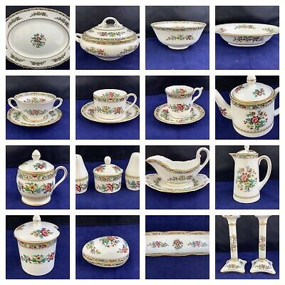Choice Of Coalport Ming Rose China - Tableware And Decorative Pieces   • 8£