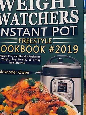 $10.88 • Buy Weight Watchers Instant Pot Freestyle Cookbook 2019–new