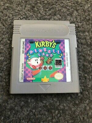 AU20 • Buy Kirby's Pinball Land Nintendo Gameboy Cartridge Only