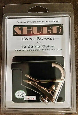 $ CDN28.93 • Buy Shubb C3G GOLD, For 12 String String Guitars NEW In Box Ships Free