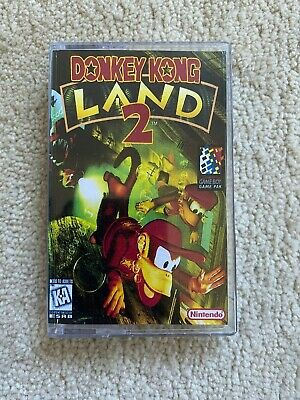 AU25 • Buy Donkey Kong Land 2 Nintendo Gameboy PAL AUS Cartridge Only (Custom Case)