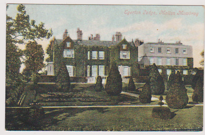 Egerton Lodge - Melton Mowbray - Liecestershire - Postcard Used 1906 • 4.99£