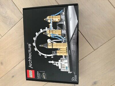 LEGO Architecture 21034 London Skyline New Sealed Big Ben Tower Bridge The Eye • 62.50£