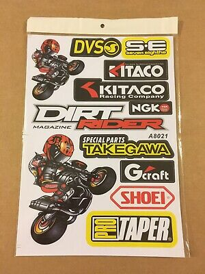 $ CDN8.81 • Buy **Stickers Autocollant Publicitaire - Pro Taper - NGK - Kitaco Racing - Shoei **