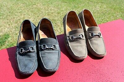 $ CDN44.05 • Buy Lot Of 2 1901 Mens 12M Suede Destin Driving Loafer Dress Casual Slip On Shoes