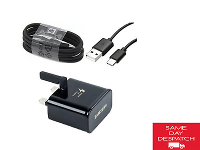 $ CDN13.17 • Buy For Samsung Galaxy S8 S9 S10 NOTE 9 10 A5 Mains Fast Charger Plug + Cable Lead