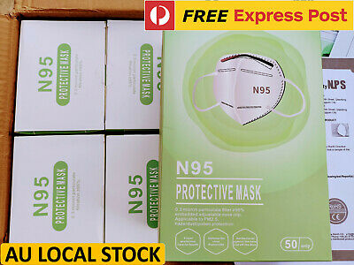 AU228 • Buy 50x N95 Respirator Protective Face Mask CA FDA Certified PM2.5 Protection