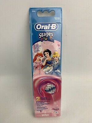 AU23.99 • Buy NEW Oral B Electric Toothbrush Kids Eb10 Replacement Toothbrush Heads 2 Pack