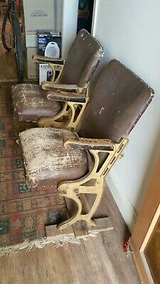 AU199 • Buy Original Vintage  Antique Theatre Seats