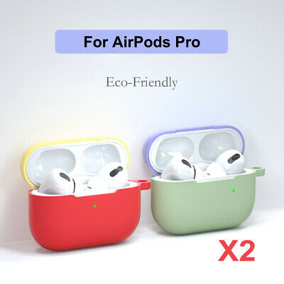 AU7.55 • Buy 2X Silicone Case Protector For Apple AirPods Pro Case Skin NEW AirPods 3