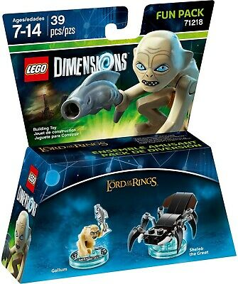 AU48 • Buy LEGO 71218 Lord Of The Rings Gollum Minifigure Dimensions Fun Pack