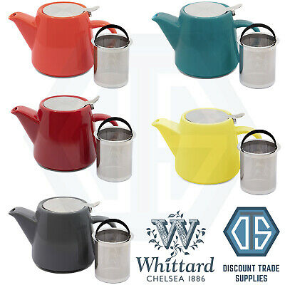 £13.99 • Buy Whittard Of Chelsea Pao Teapot With Infuser Various Colours Available Brew For 2