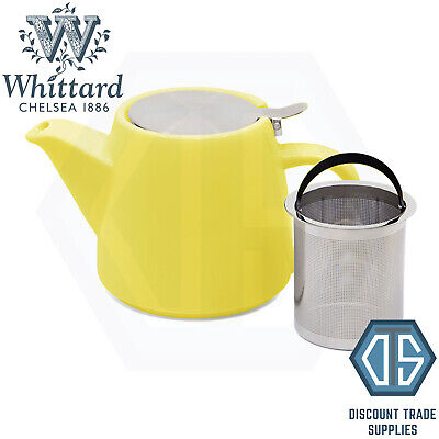 £12.99 • Buy Whittard Of Chelsea Lemon Pao Teapot With Infuser Brew For 2 Yellow Tea Pot
