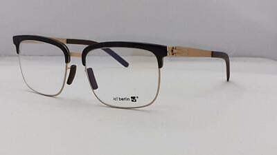 IC! Berlin DOWNTOWN Shallow Japan Gold Brille Glasses Eyeglasses Frames Size 54 • 197.60£
