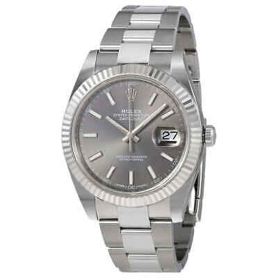 $ CDN14486.95 • Buy Rolex Datejust Dark Rhodium Automatic Men's Oyster Watch 126334RSO