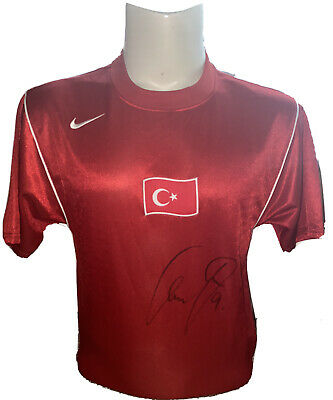 Signed Cenk Tosun Turkey Home Shirt Everton Crystal Palace Besiktas 1 • 89.99£