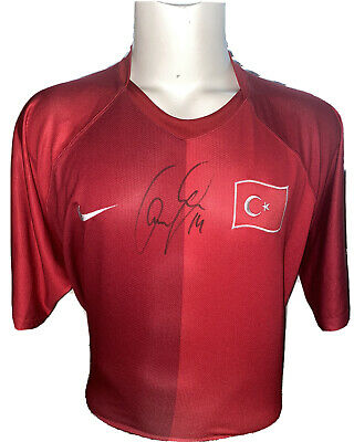 Signed Cenk Tosun Turkey Home Shirt Everton Crystal Palace Besiktas 3 • 89.99£