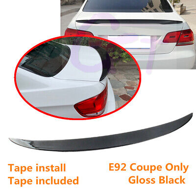 $49.85 • Buy Fit For BMW 3 Series E92 Coupe 2007-2013 Gloss Black Rear Trunk Lip Spoiler Wing