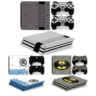 AU16.34 • Buy Skin Sticker For Sony Playstation PS4 Pro Console & Controller Decal Wrap Set
