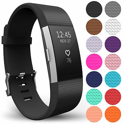 AU6.19 • Buy For FITBIT CHARGE 2 Strap Replacement Wrist Band Wristband Metal Buckle