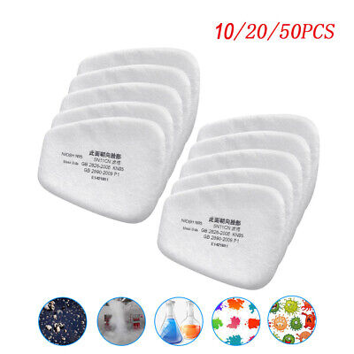 $ CDN25.78 • Buy 10/20/50PCS 5N11 Cotton Filter Replacement Protect For 6200 6800 7502 Respirator