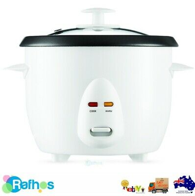 AU32.99 • Buy Rice Cooker 5 Cups Removable Non-stick Inner Pot Cook Auto Keep Warm 1 Litre