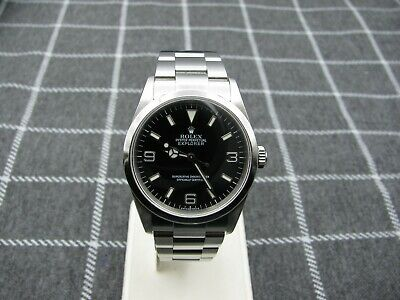 $ CDN8384.01 • Buy *Rare* Rolex Explorer I Stainless Steel Watch 114270 W/ Box & Paper DISCONTINUED