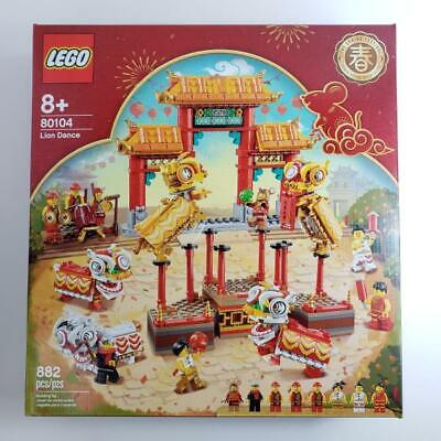 $149.94 • Buy LEGO 80104 Lion Dance Chinese New Year Spring Festival SET 2020 Special Edition