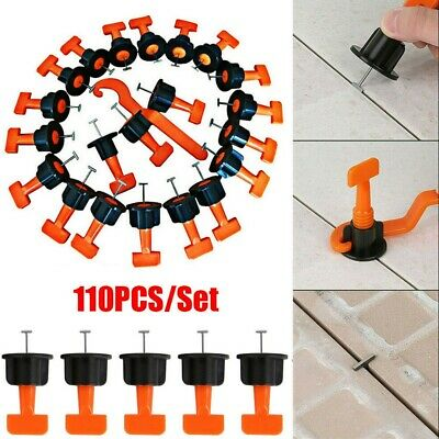 110X Tile Leveling Spacer System Tool Flooring Construction Reusable Kit Quality • 12.99£