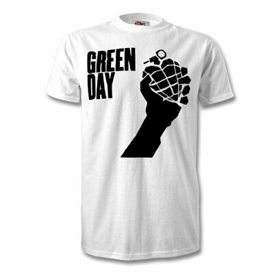 Green Day Band T Shirt KIDS ADULT SIZES FRUIT OF LOOM • 9.99£