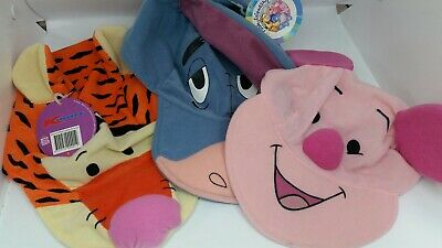 Mcdonalds Happy Meal Toys 3 X Winnie The Pooh Children's Hats • 7.95£