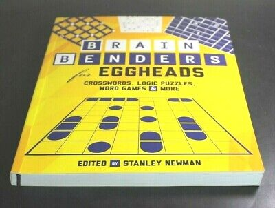 $11.49 • Buy BRAIN BENDERS FOR EGGHEADS By Stanley Newman  [Paperback]  ^ NEW ^