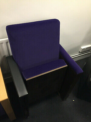Home Cinema Seating - Purple Chair With Table • 149£