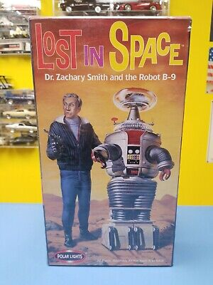 AU72.97 • Buy Polar Lights Lost In Space Dr. Zachary Smith And The Robot B-9  New