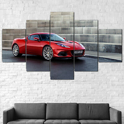 $ CDN191.45 • Buy Lotus Evora GT410 2020 Car Canvas Print Framed 5 Pcs Wall Art Poster Decor