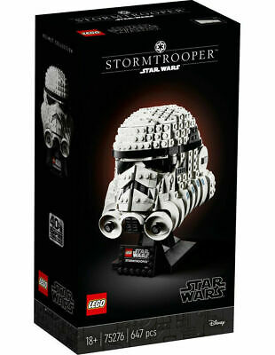 AU169.99 • Buy *BRAND NEW* LEGO Star Wars 75276 | Stormtrooper Helmet | Shipped From Melbourne