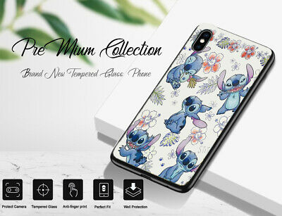 £6.99 • Buy Premium Collection Glass Floral Stitch Pattern Phone Case Cover