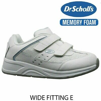 Ladies Womens Dr Scholls Leather Wide Fit Casual Walking  Trainers Shoes UK 4-9 • 11.99£