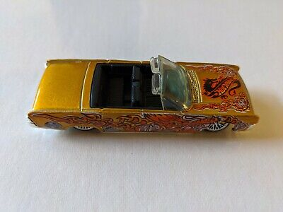 $7.50 • Buy Vintage 1999 1964 Lincoln Continental Hot Wheels Dragon Design Convertible Car
