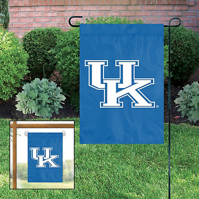 $6.99 • Buy Kentucky University 15  X 10.5  Durable College GARDEN FLAG By Party Animal