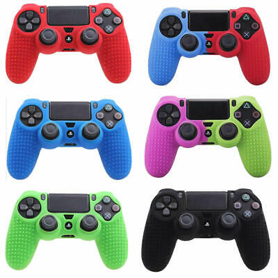 AU4.69 • Buy PS4 Controller Skin Protective Pattern Silicone Rubber Case Cover Grips