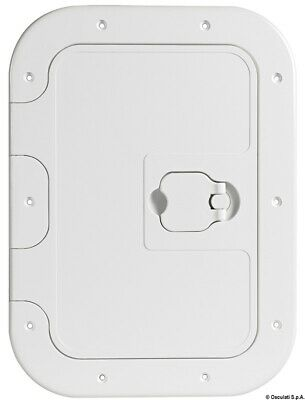 Hinged Boat Deck Inspection Hatch 380x280mm   • 21.50£