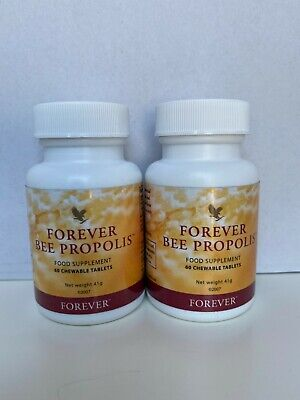 Forever Living Bee Propolis Food Supplement 1*60 Chewable Tablets Fast Delivery  • 25.49£
