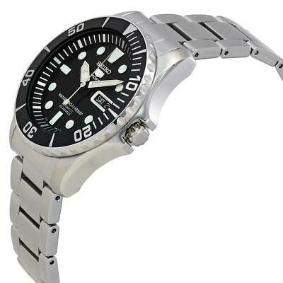 $ CDN255.71 • Buy Seiko 5 Sports Black Dial Stainless Steel Silver Automatic Mens Watch SNZF17